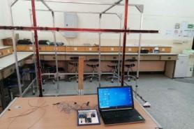 قسم الهندسة الكهربائية ينجح بتصميم وتصنيع اول منصة لفحص الأقمار الصناعية الصغيرة