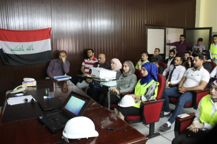 The Department Organizes a Scientific Visit